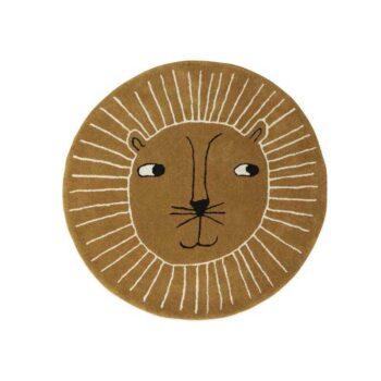 Lion rug OYOY