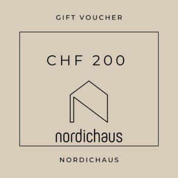 gift card 200 chf