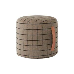 grid pouf