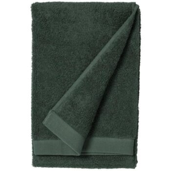towel dark green