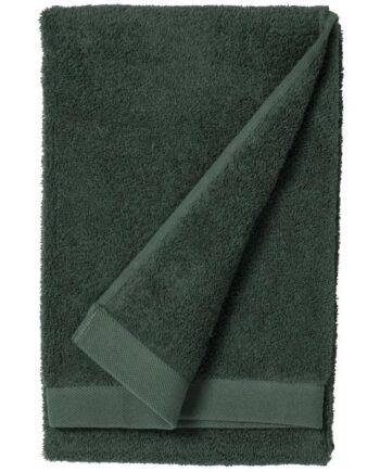 towel dark green