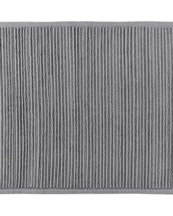 grey bath mat