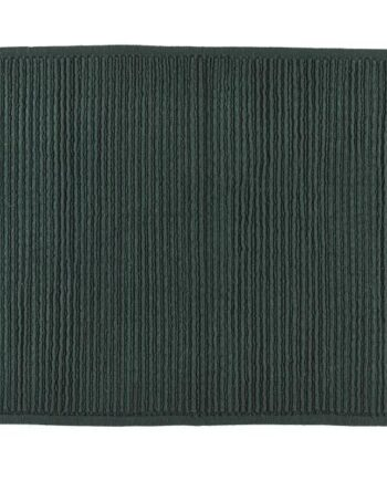 dark green bath mat