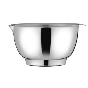 mixing bowl silver