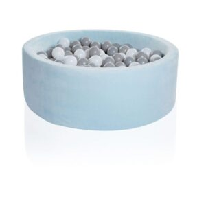 baby blue ball pit