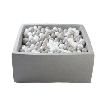 light grey ball pit