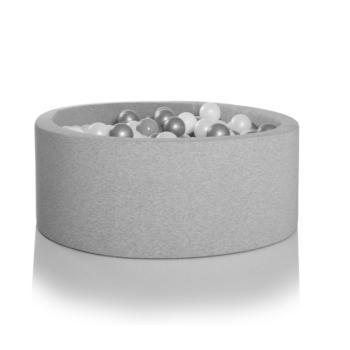 light grey ball pit