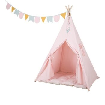 tipi pink little dutch