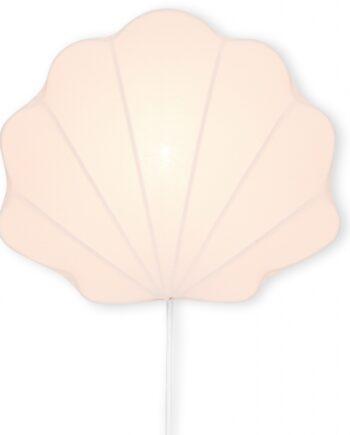 blush shell lamp