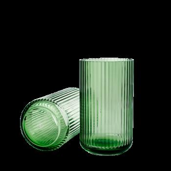 green lyngby vase