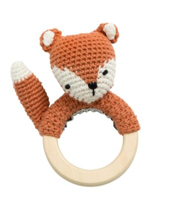 rattle toy fox