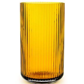 lyngby vase amber