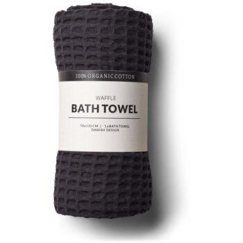 bath towel black