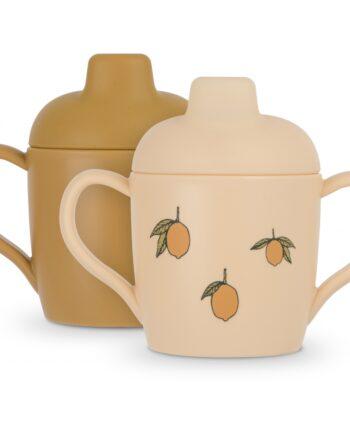 sippy cups lemon