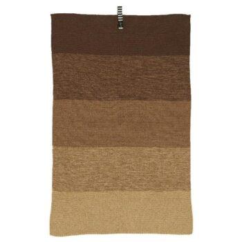 dark brown tea towel