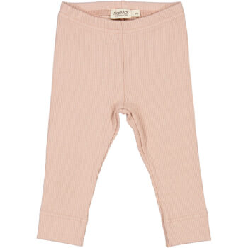 leggings rose rib
