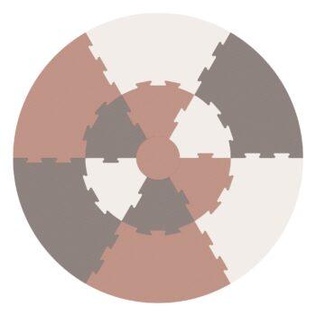 rustic plum mat