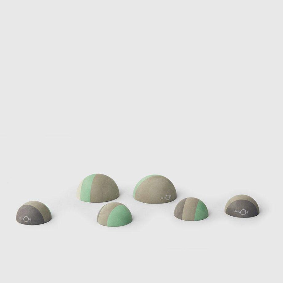 bobles grey stepstones