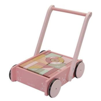 wooden block trolley
