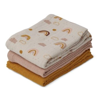 liewood muslin cloth 3 pack