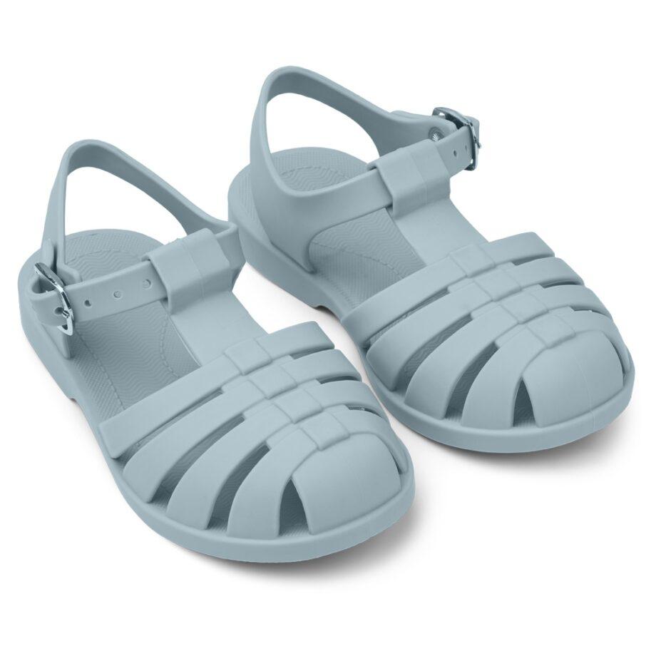 sea blue sandals