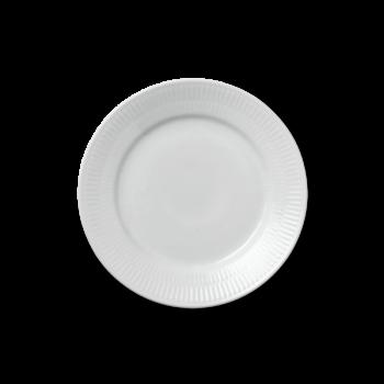 white fluted 19 cm