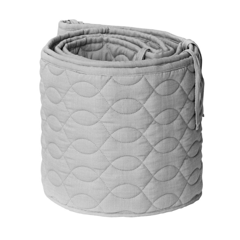 bed bumper grey