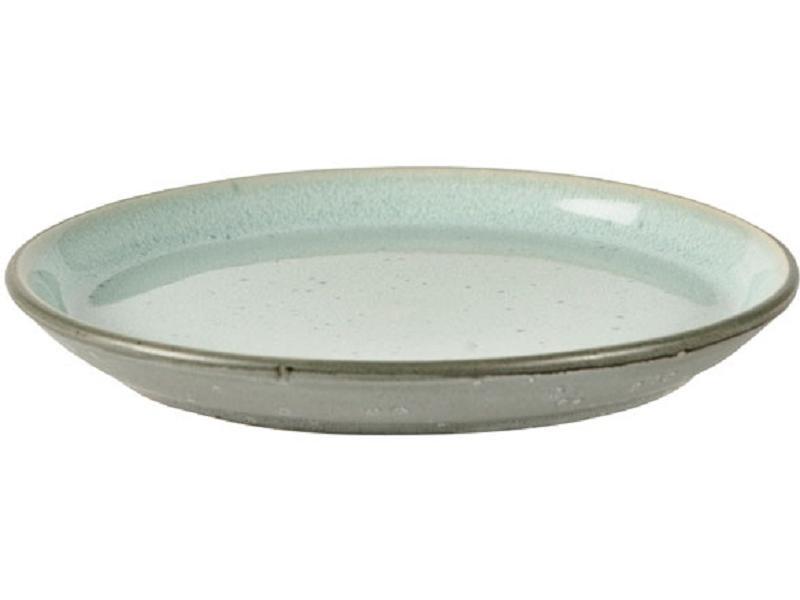 plate grey blue bitz