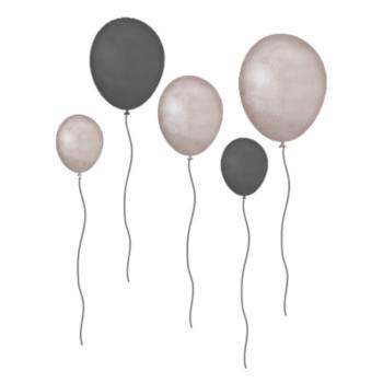 Grey-Balloons