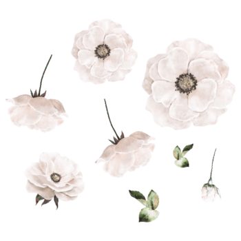 wallsticker flower