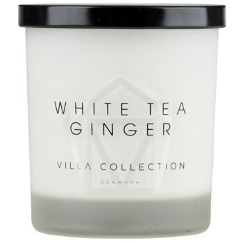 white tea scented candle