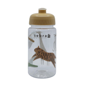 sebra drinking bottle wildlife