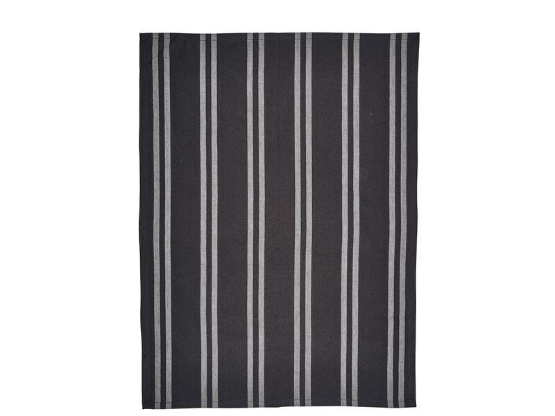 tea towels set black grey