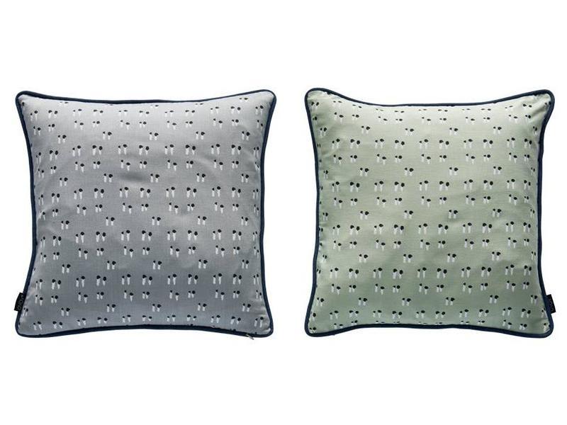 duo cushion mint