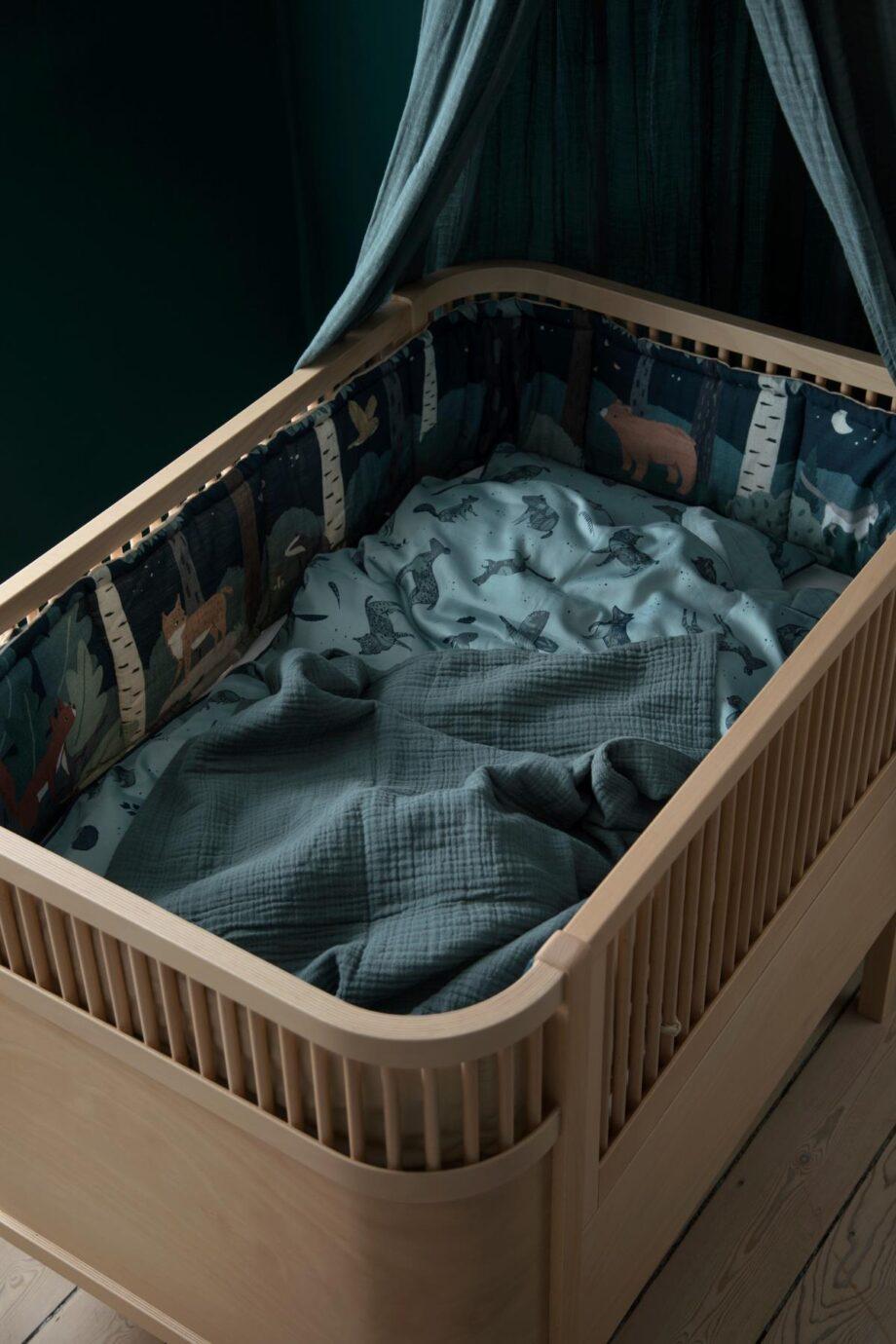 night fall bed bumper sebra