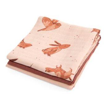 muslin cloths,