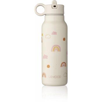 rainbow love falk water bottle