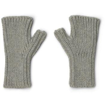 fingerless mittens grey liewood