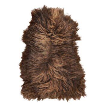 lambskin brown real