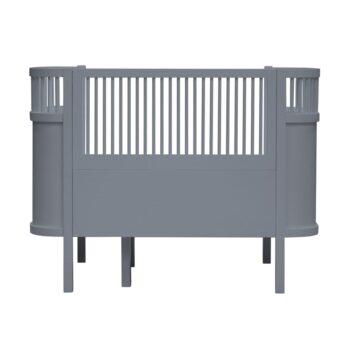 sebra bed dark grey
